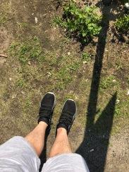 Standing 10m above Hitler's bunker